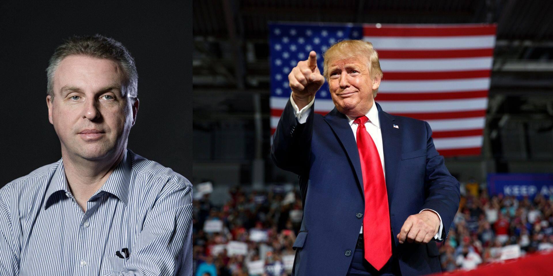 """La Dernière Humeur: """"Good bye, mister Trump"""""""