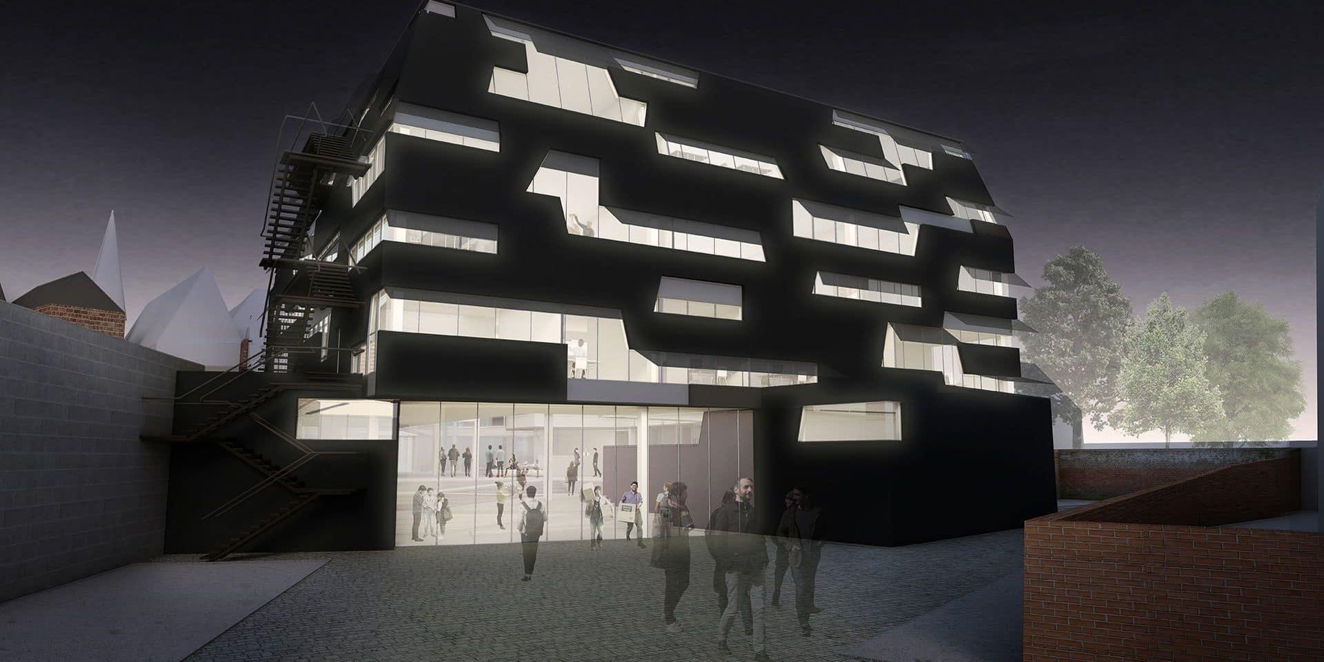 Un bâtiment moderne en plein centre-ville pour la faculté d'architecture de l'UMons