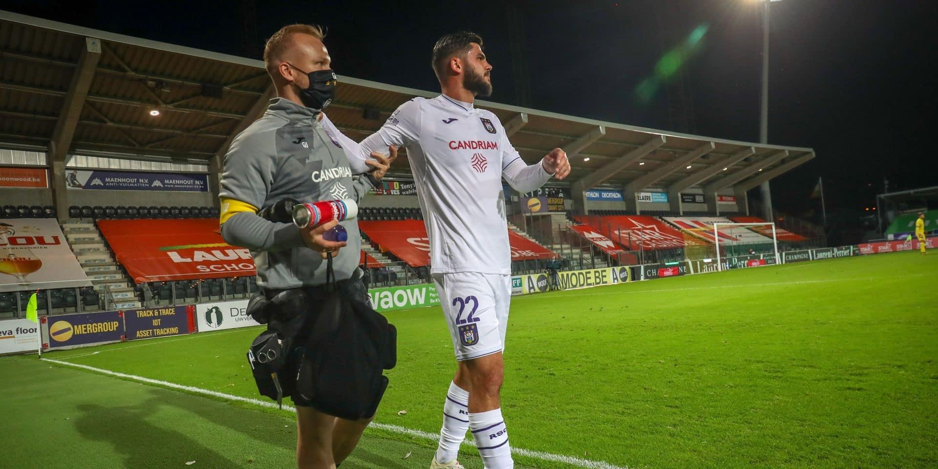 Cobbaut a rejoué avec Anderlecht, Van Crombrugge de retour