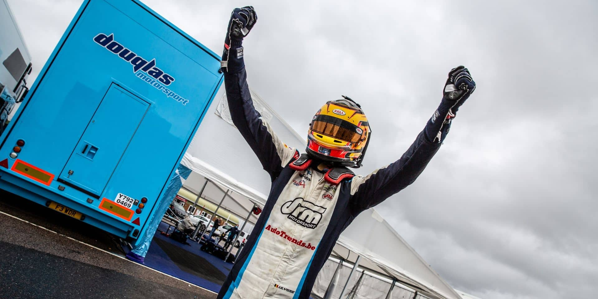 Brabançonne au Royaume-Uni: Ulysse De Pauw gagne en F3 GB à Snetterton!