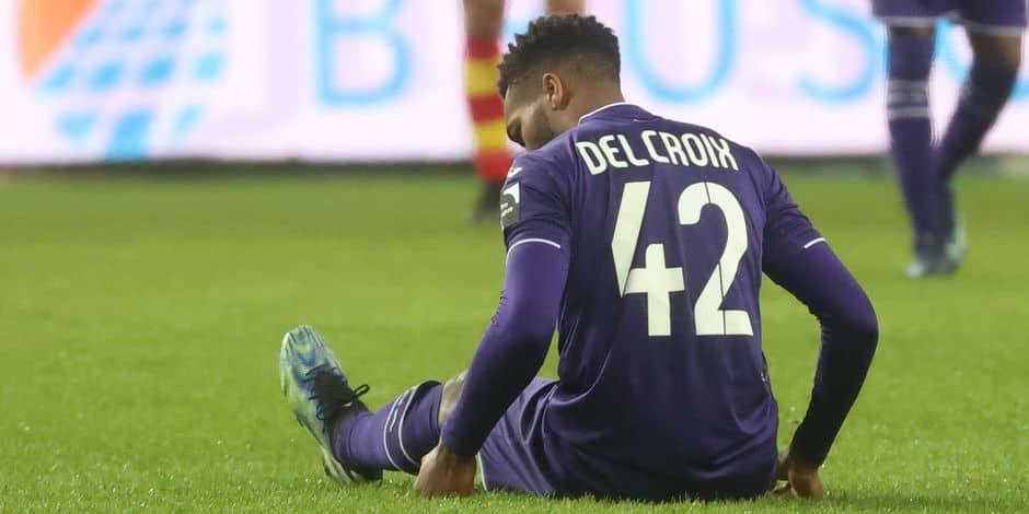 Catastrophe pour Anderlecht: opération nécessaire et fin de saison pour Hannes Delcroix !