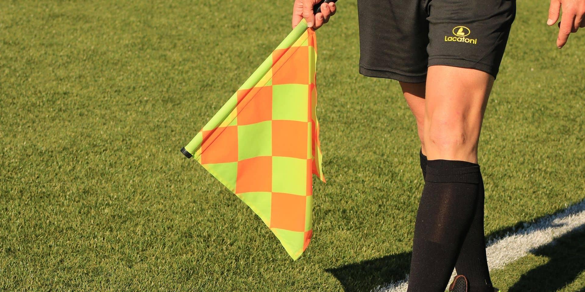 Malines: un joueur de provinciale suspendu cinq ans pour avoir frappé un arbitre