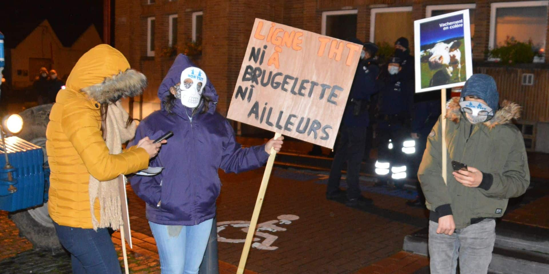 Boucle du Hainaut : les bourgmestres de Wapi d'accord pour dire... non