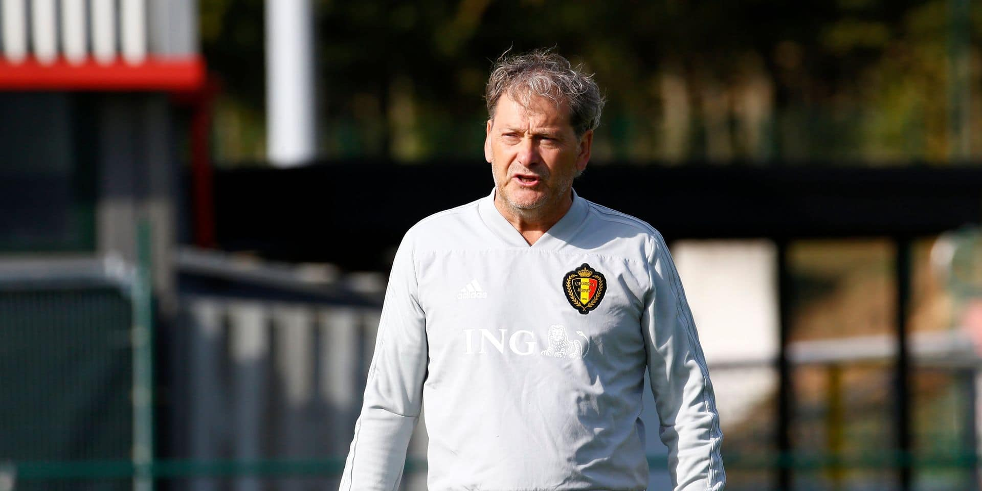 Training session of the Belgian Red Devils U19 - 09092019