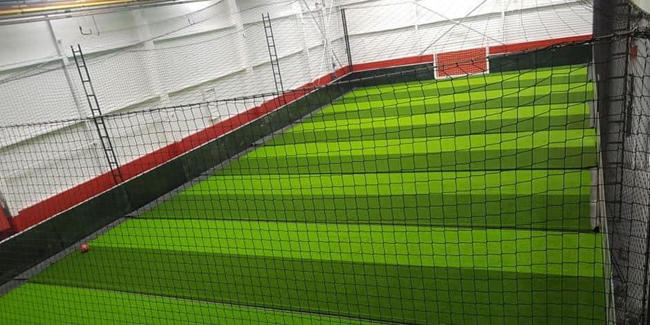 Le centre de football indoor Circus Arena ouvrira à Frameries dans un mois !