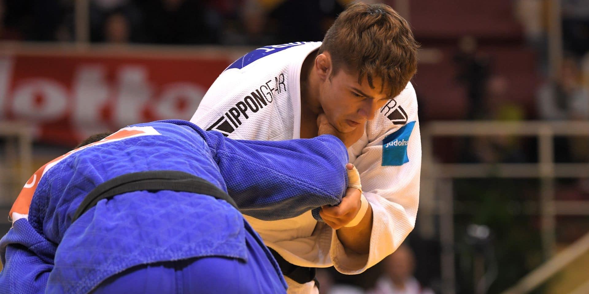 Judo : Triste deuxième journée belge à Prague...