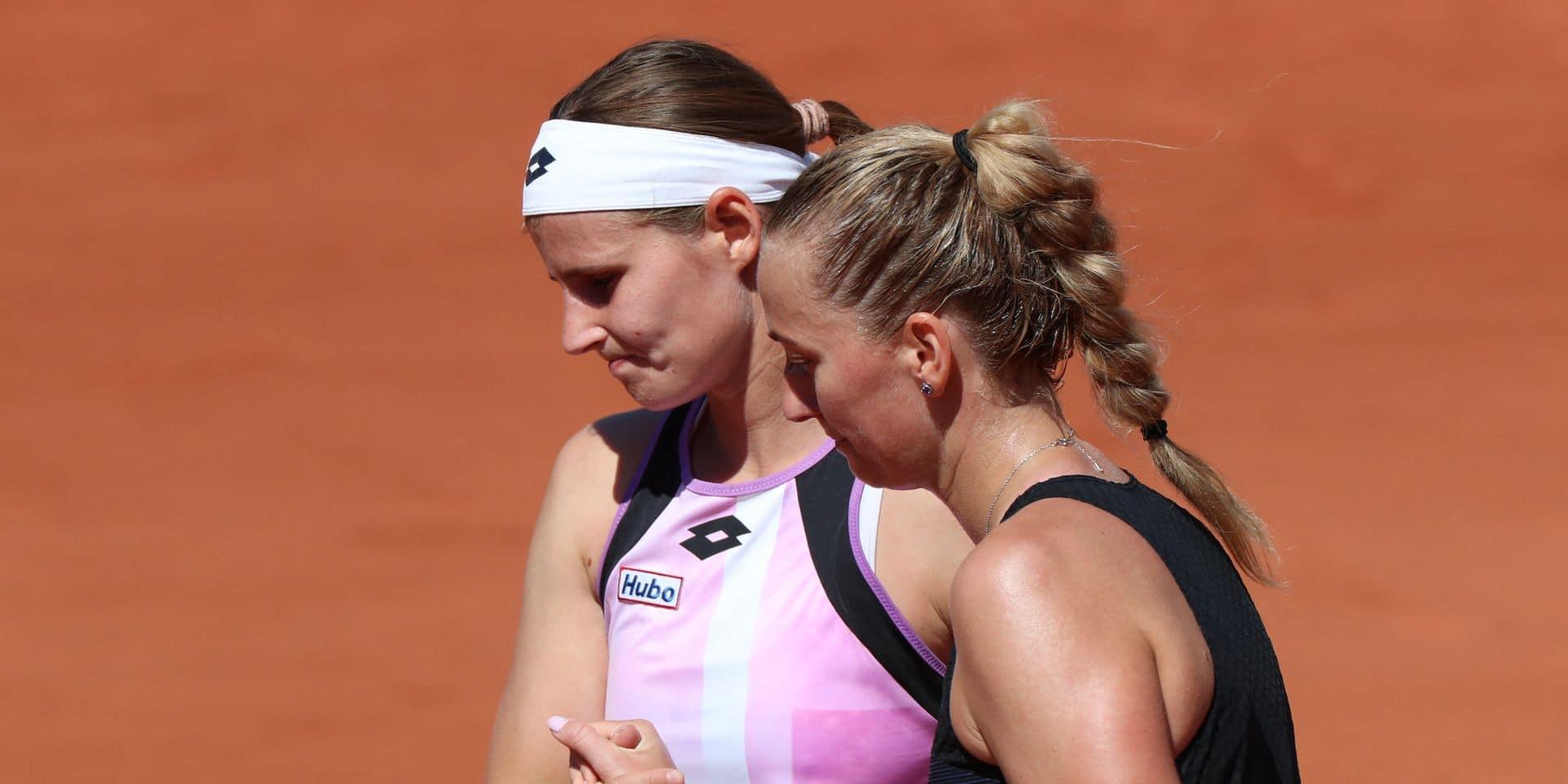 Roland-Garros: Malgré une balle de match, Greet Minnen s'incline contre Petra Kvitova
