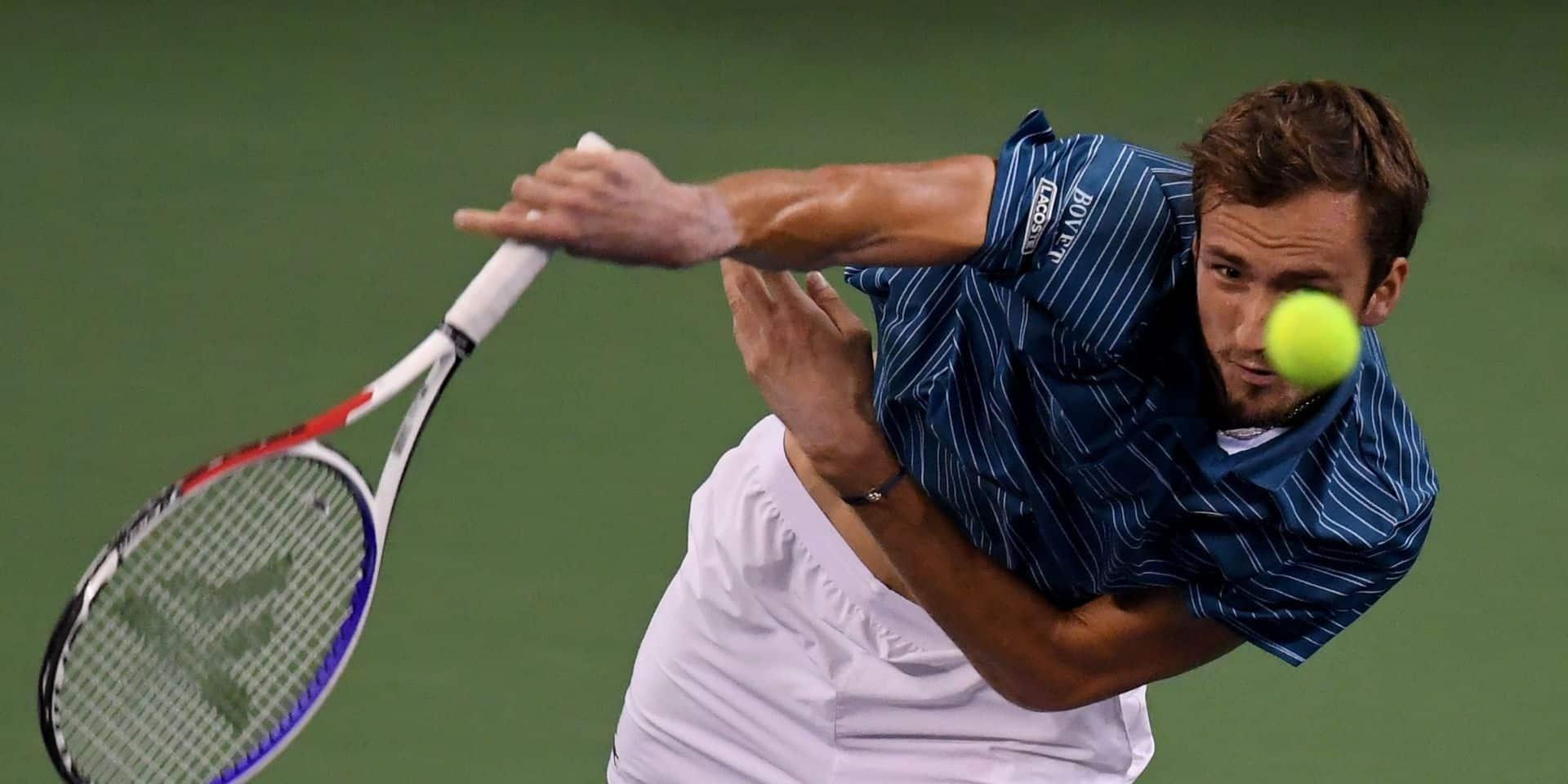 ATP Shanghai: Daniil Medvedev remporte son deuxième Masters 1000 d'affilée après Cincinnati