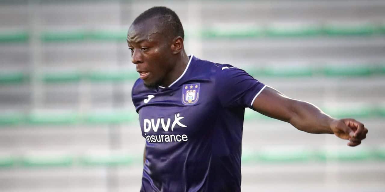 Encore un départ à Anderlecht: Edo Kayembe en partance pour Eupen