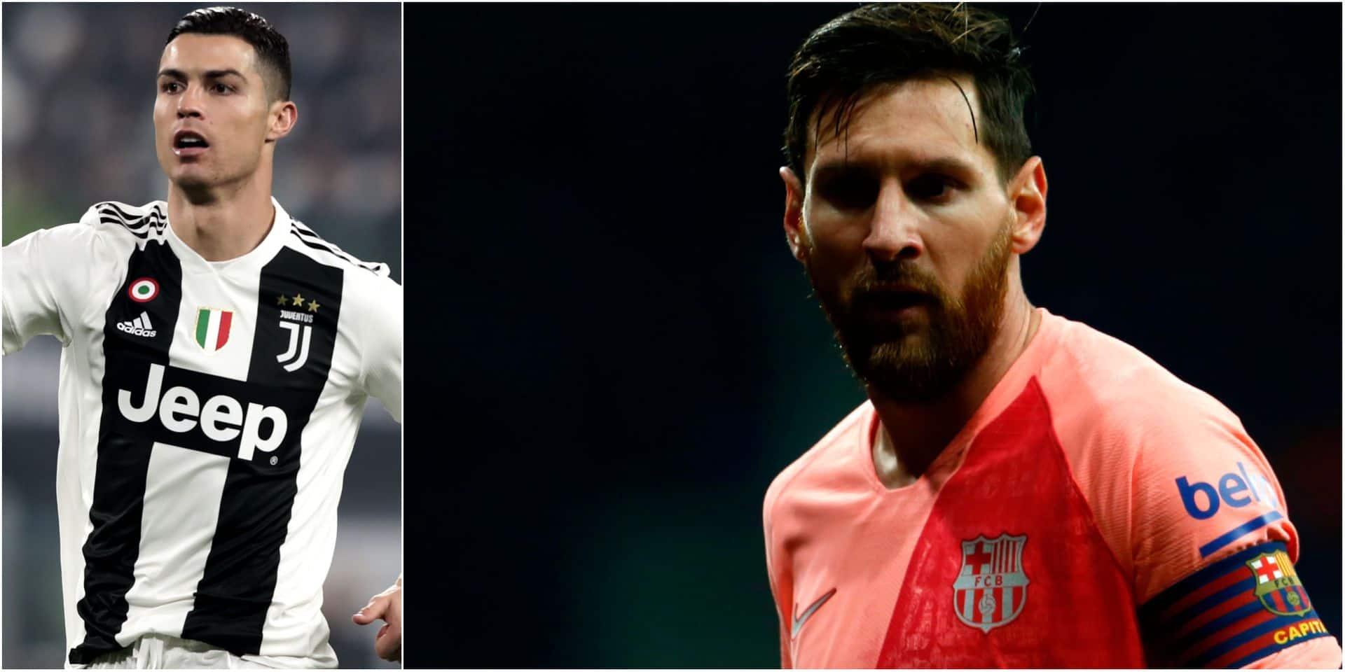 "Ronaldo en manque de Messi: ""Viens jouer en Italie"""
