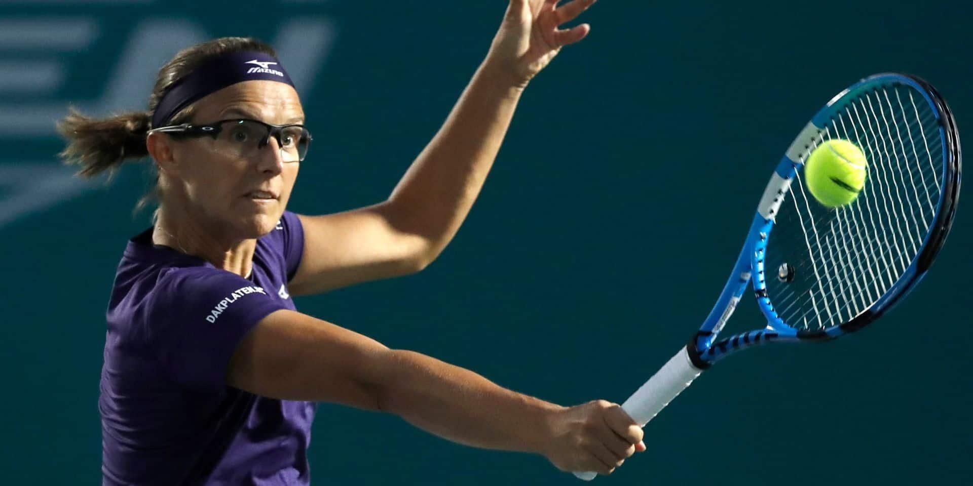 WTA Moscou : Kirsten Flipkens se hisse en finale du double