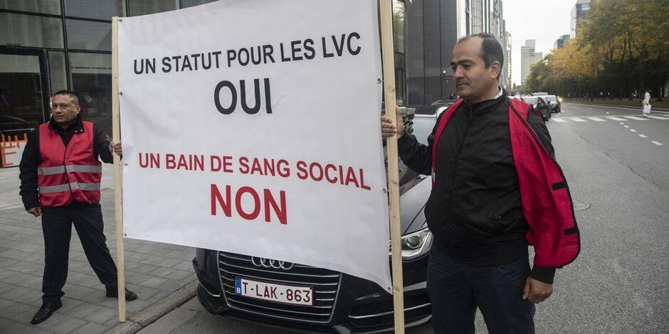 Les chauffeurs Uber manifestent ce jeudi à Bruxelles