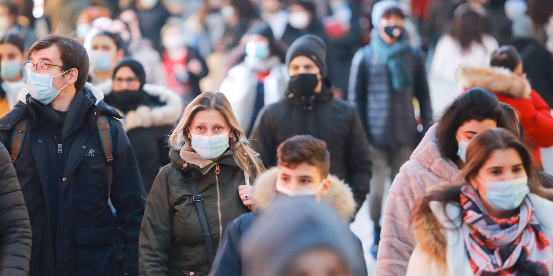 25% des nouvelles contaminations en Belgique dues au variant britannique