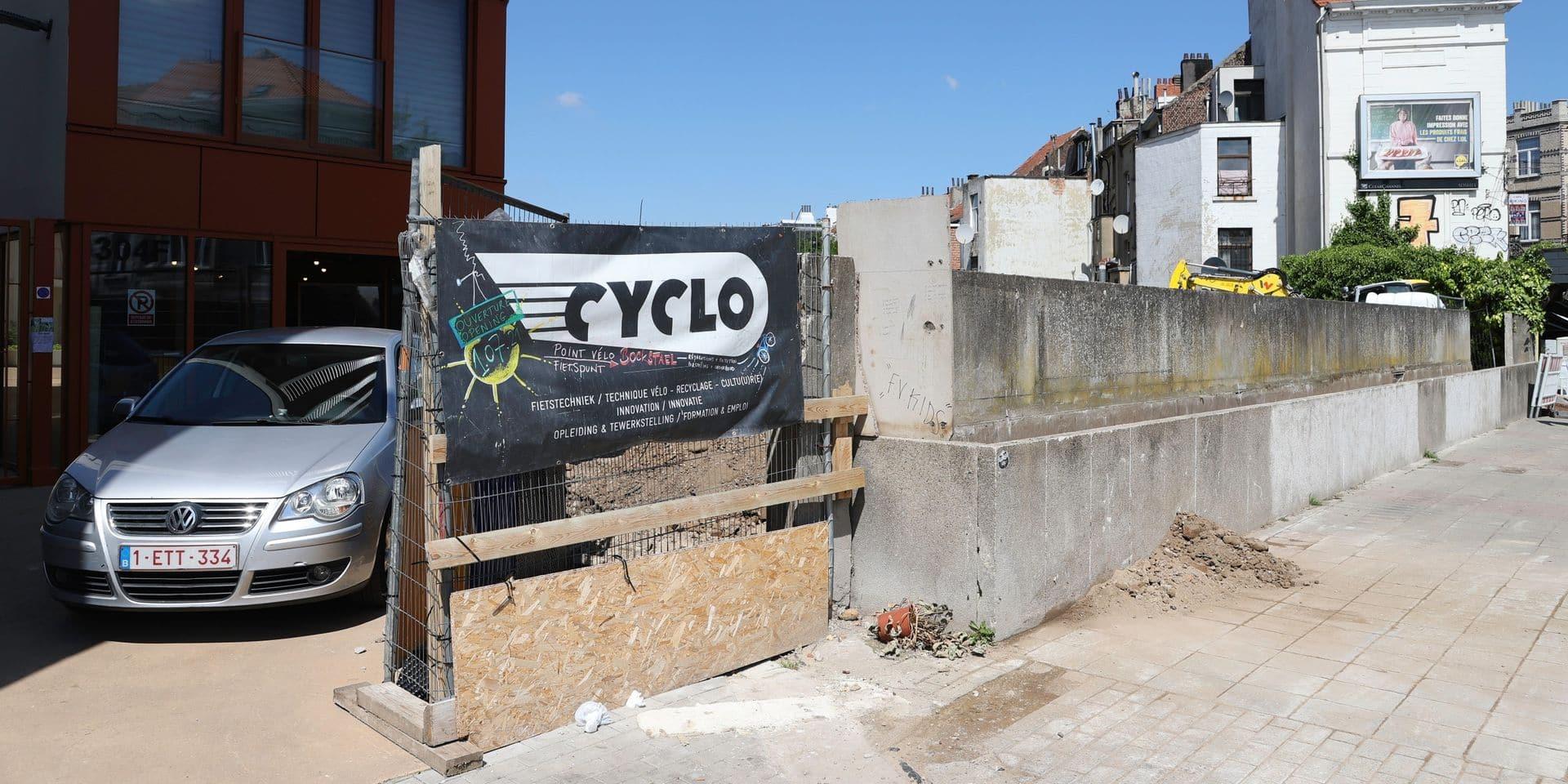 Laeken : Un nouvel atelier Cyclo s'installe au niveau de la gare de trains de Bockstael