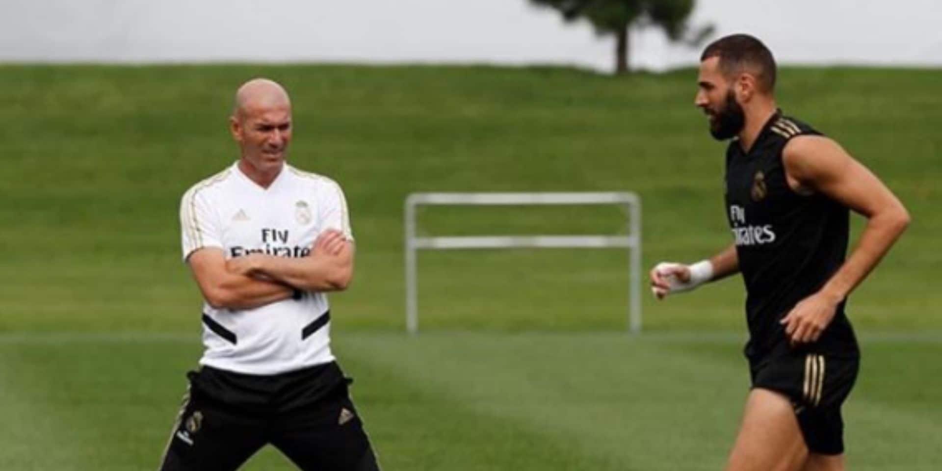 Booba chambre Zinédine Zidane: Karim Benzema défend son coach
