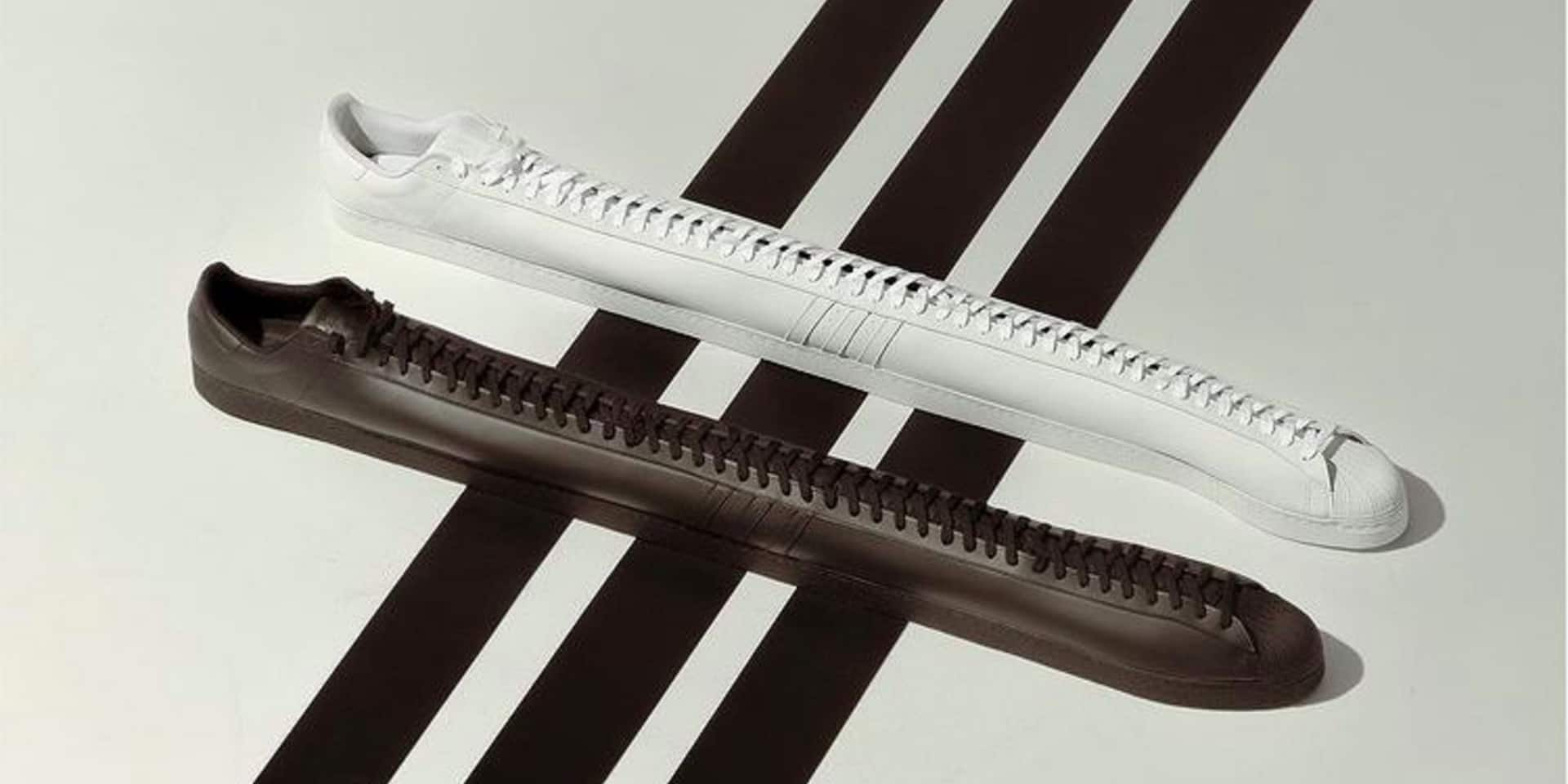 Voici la dernière création surprenante d'Adidas: les plus longues sneakers du monde