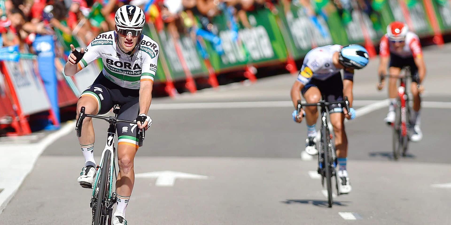Vuelta: Bennett s'impose dans la 14e étape... malgré le chaos