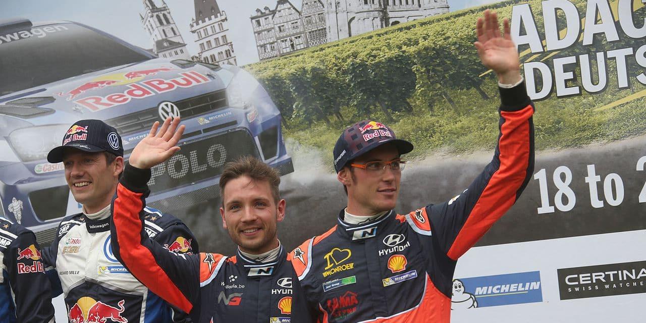 Jamais un pilote de WRC n'a remporté son premier titre avec un nouveau copilote