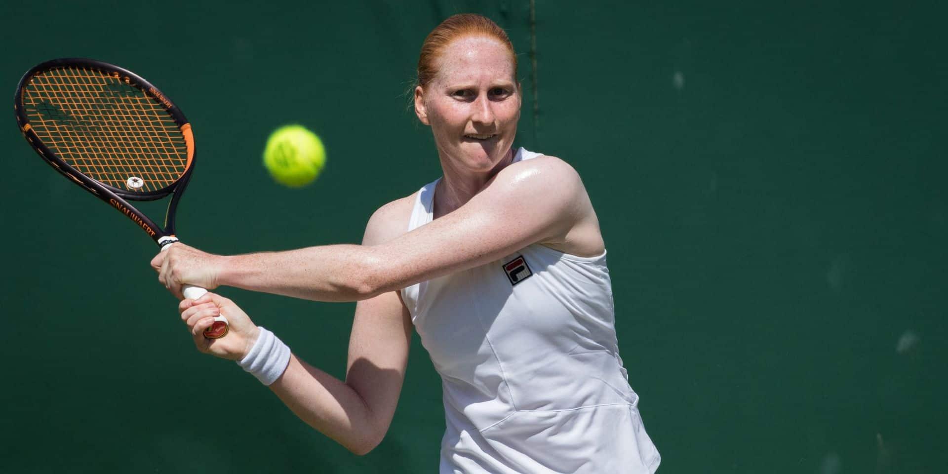 WTA Palerme : Alison Van Uytvanck s'incline face à Martic, 15ème au classement WTA