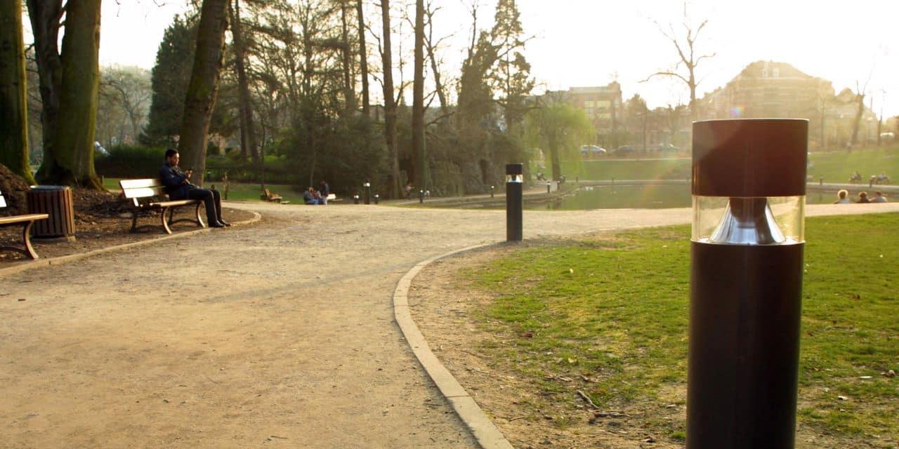 Coups de tournevis au parc Louise-Marie