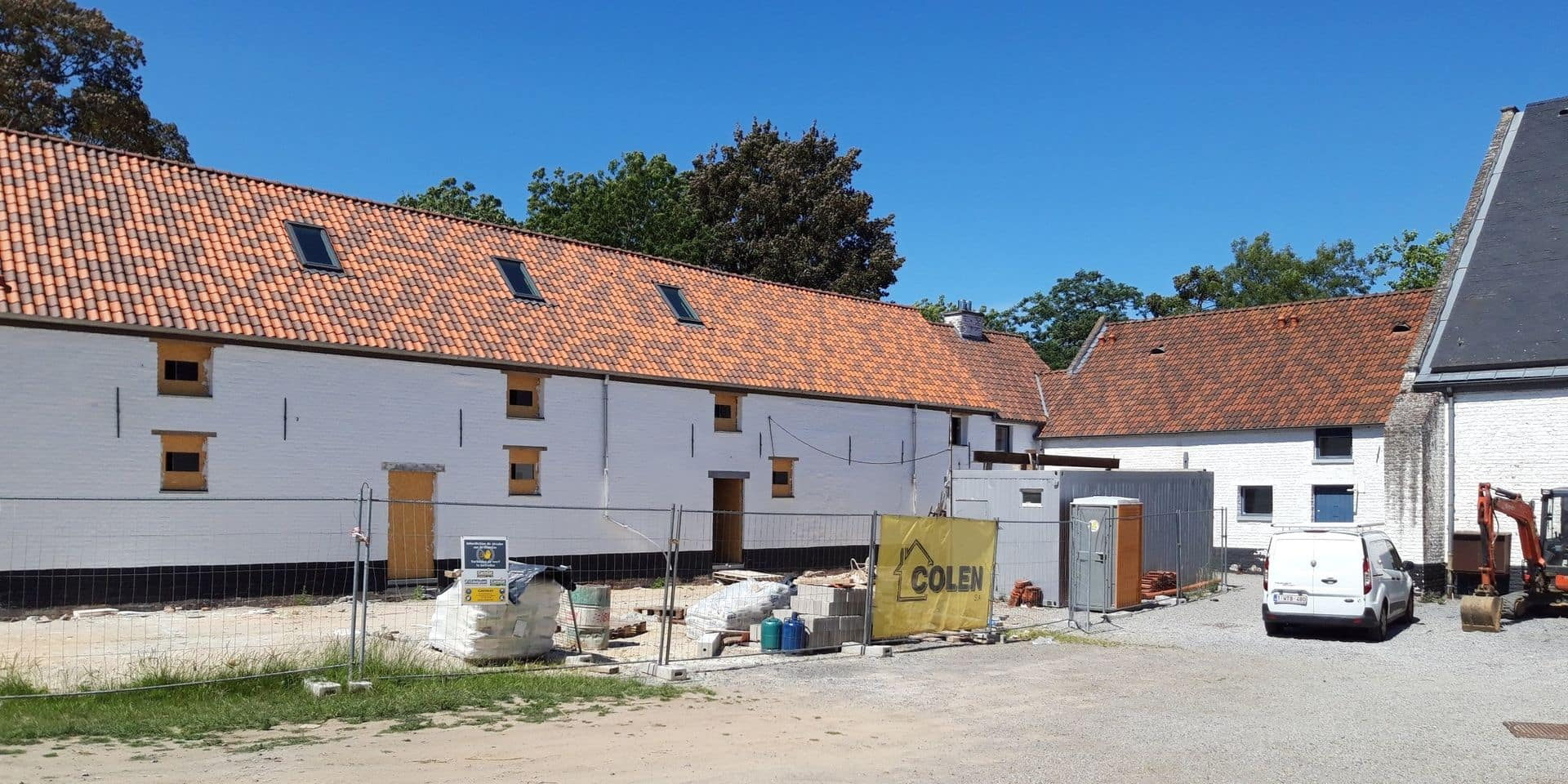 Louvain-la-Neuve: une date pour la fin des travaux de la Ferme du Biéreau