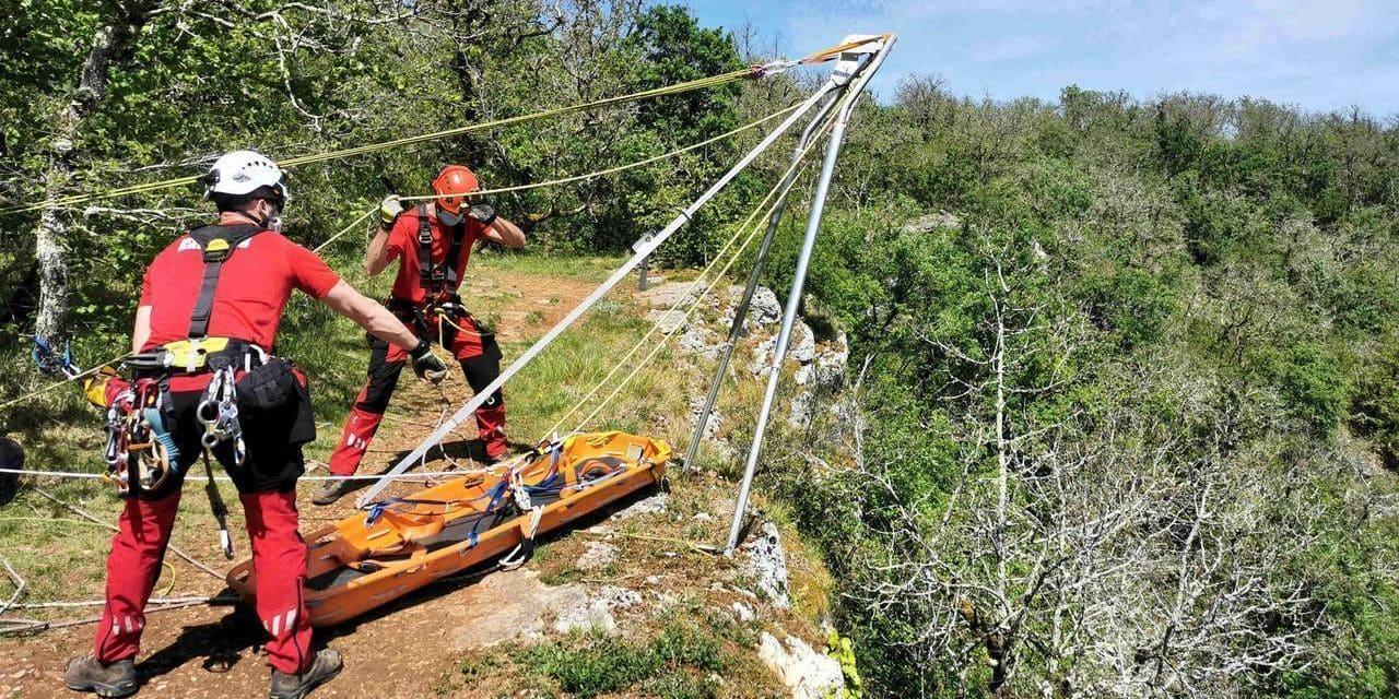 Un homme tombe dans un ravin durant une promenade à Visé : les pompiers lui portent secours
