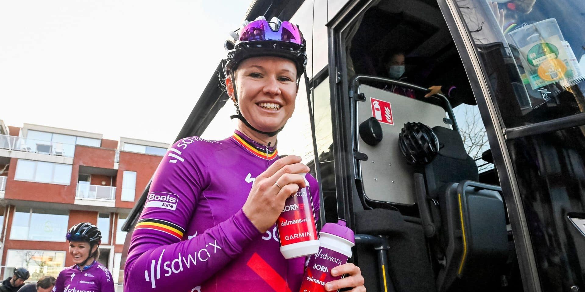 Healthy Ageing Tour : Jolien D'hoore remporte la première étape