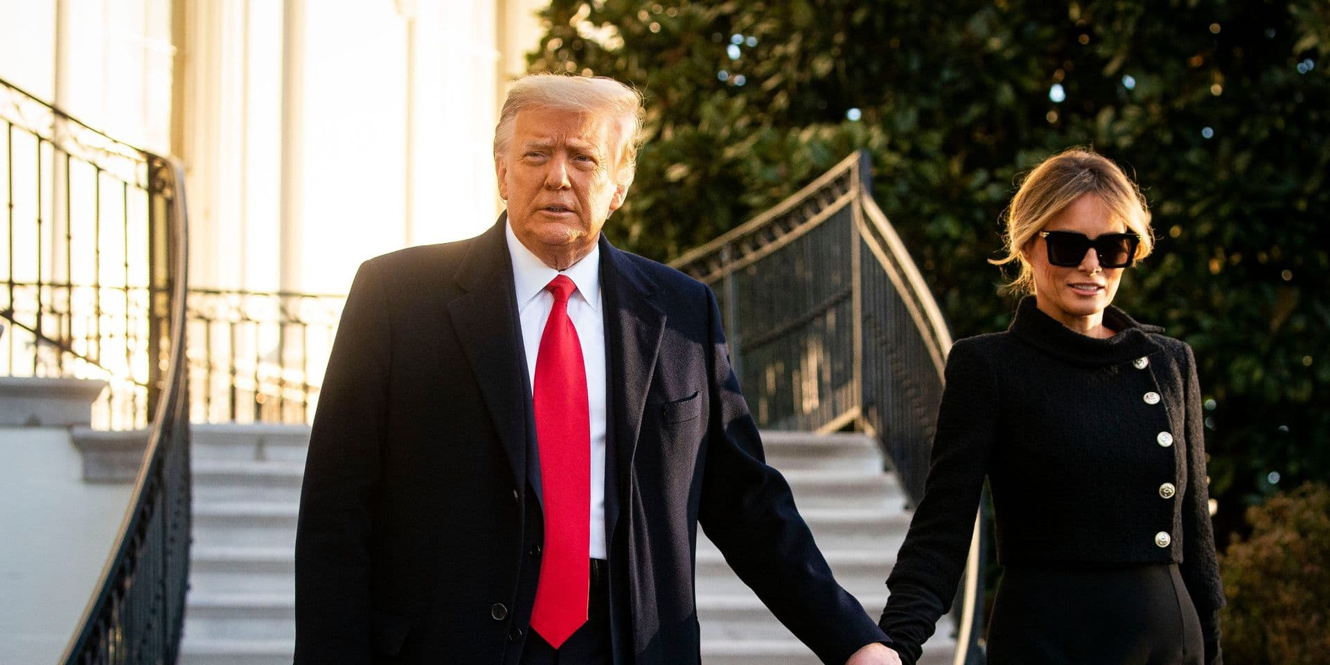 Donald et Melania Trump auraient été vaccinés en janvier