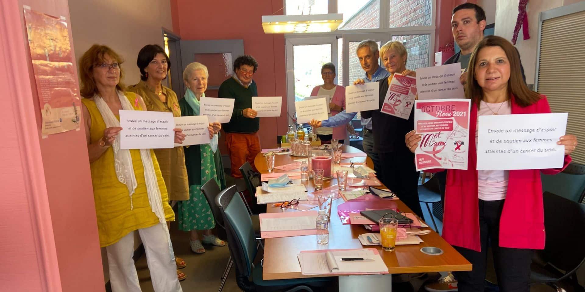 """Tournai : Un octobre rose en """"mots pour maux"""""""