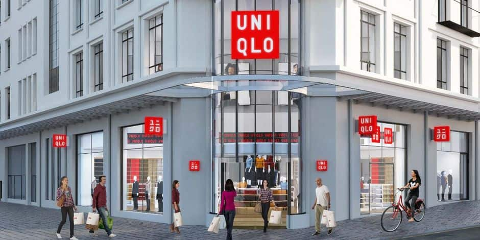 Ixelles : L'enseigne japonaise Uniqlo débarque Porte de Namur