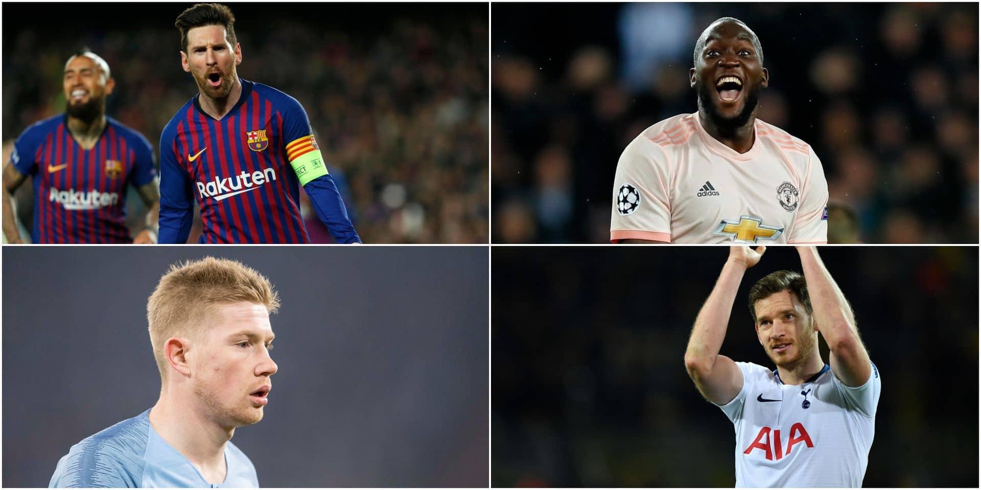 Barça-ManU, Ajax-Juventus, Tottenham-City et Liverpool-Porto en 1/4 de finale de Champions League