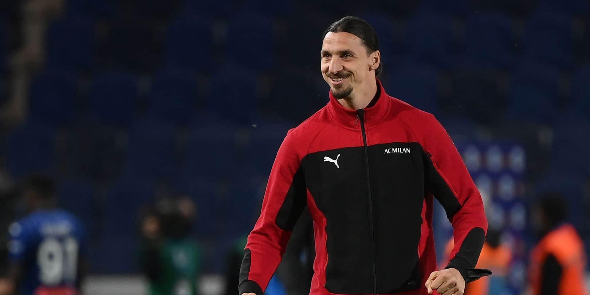 Le Suédois Zlatan Ibrahimovic opéré du genou gauche