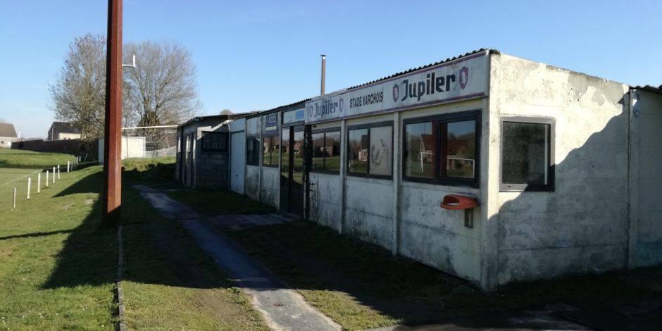 Permis refusé pour les nouvelles installations du Stade Marchois à Ecaussinnes