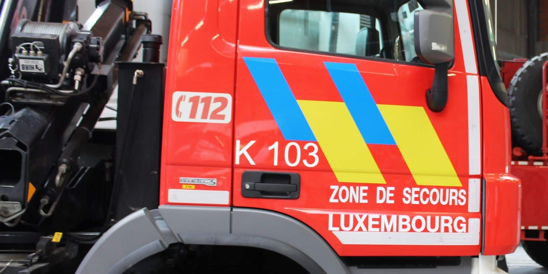 Violent incendie à Houmont (Sainte-Ode) : la cause est accidentelle