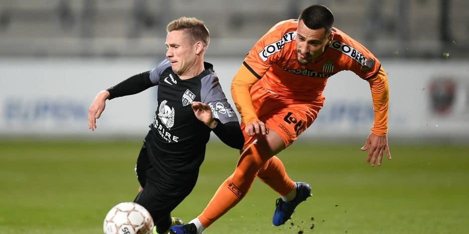 Charleroi et Zajkov se séparent