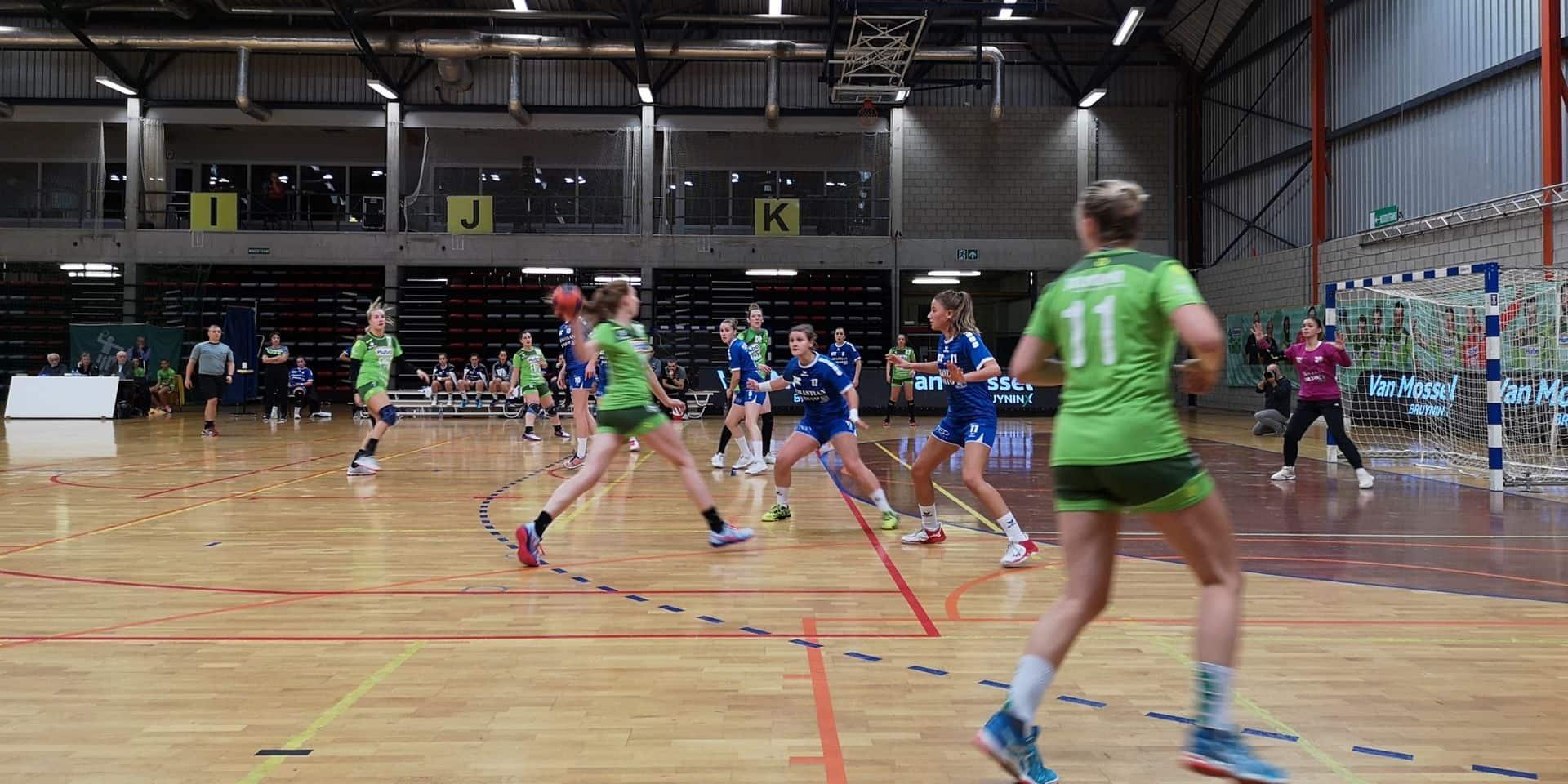 Handball: Trop de déchet dans le jeu du Fémina Visé à Hasselt (30-24)