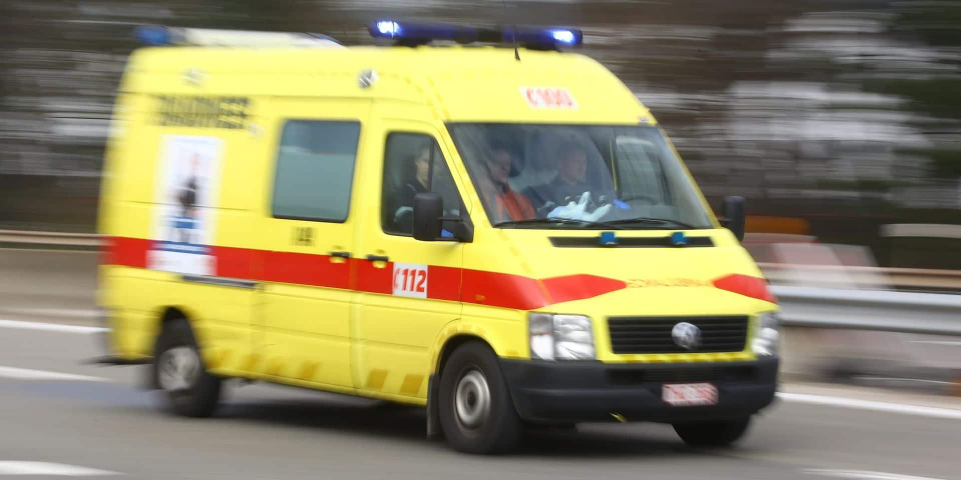 Aubange : un motard perd la vie dans une collision avec une voiture