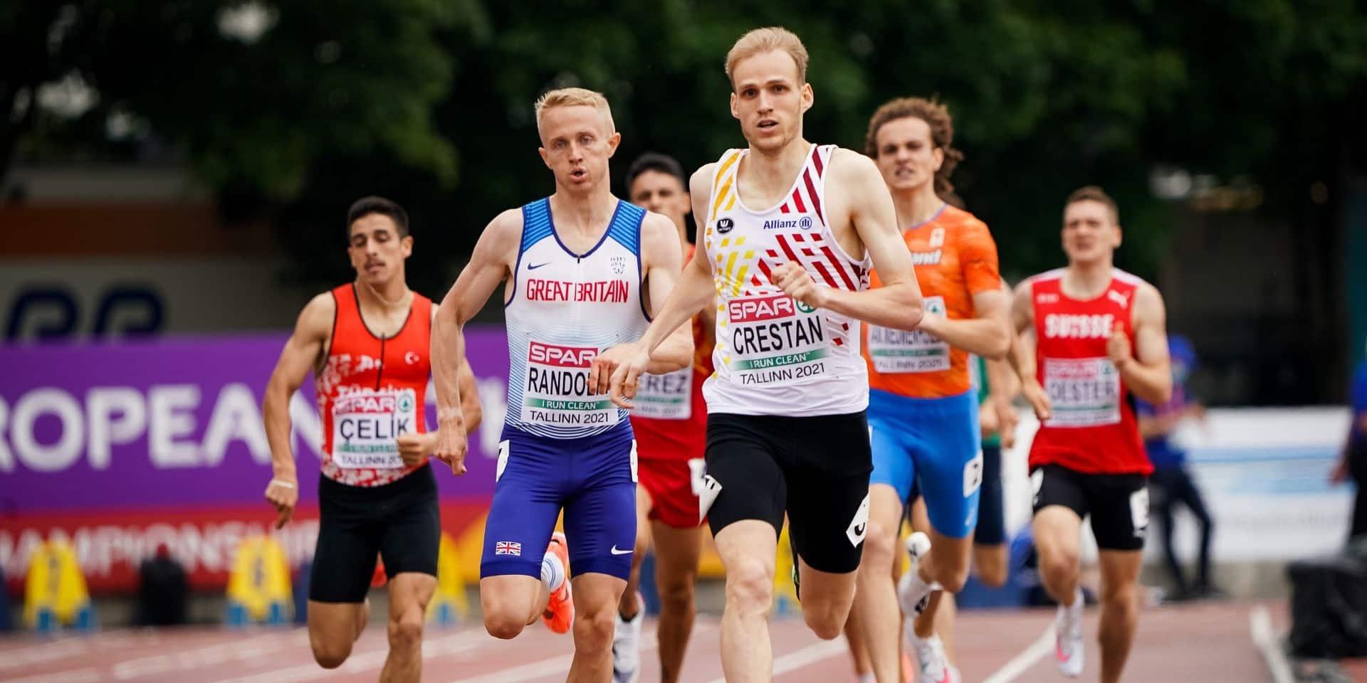 Euro espoirs : Eliott Crestan offre une cinquième médaille, en argent, à la Belgique !
