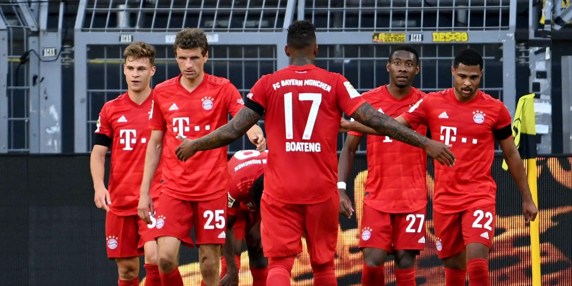 Les joueurs du Bayern Munich prêts à réduire leur salaire jusqu'à la fin de la saison