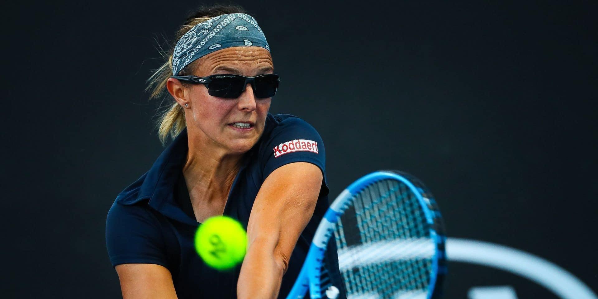 Western & Southern Open: Kirsten Flipkens et Ysaline Bonaventure s'imposent au premier tour des qualifications