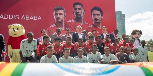 Le Bayern Munich révèle le pays africain qui va abriter sa première école de football
