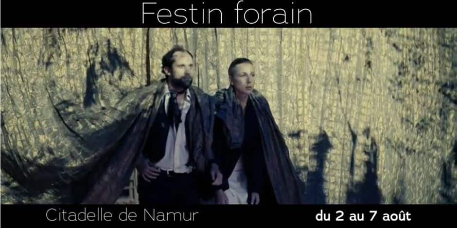 Festin forain à la citadelle de Namur du 2 au 7 août