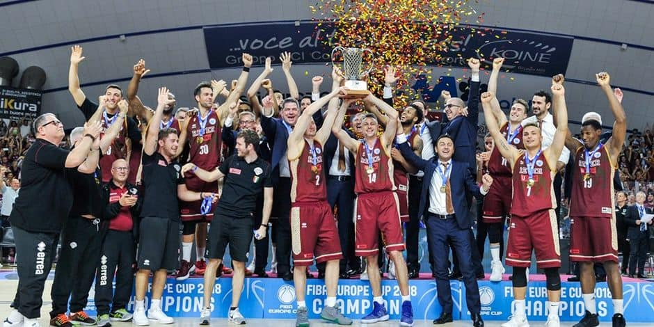 Coupe d'Europe FIBA: Venise remporte le premier trophée européen de son histoire
