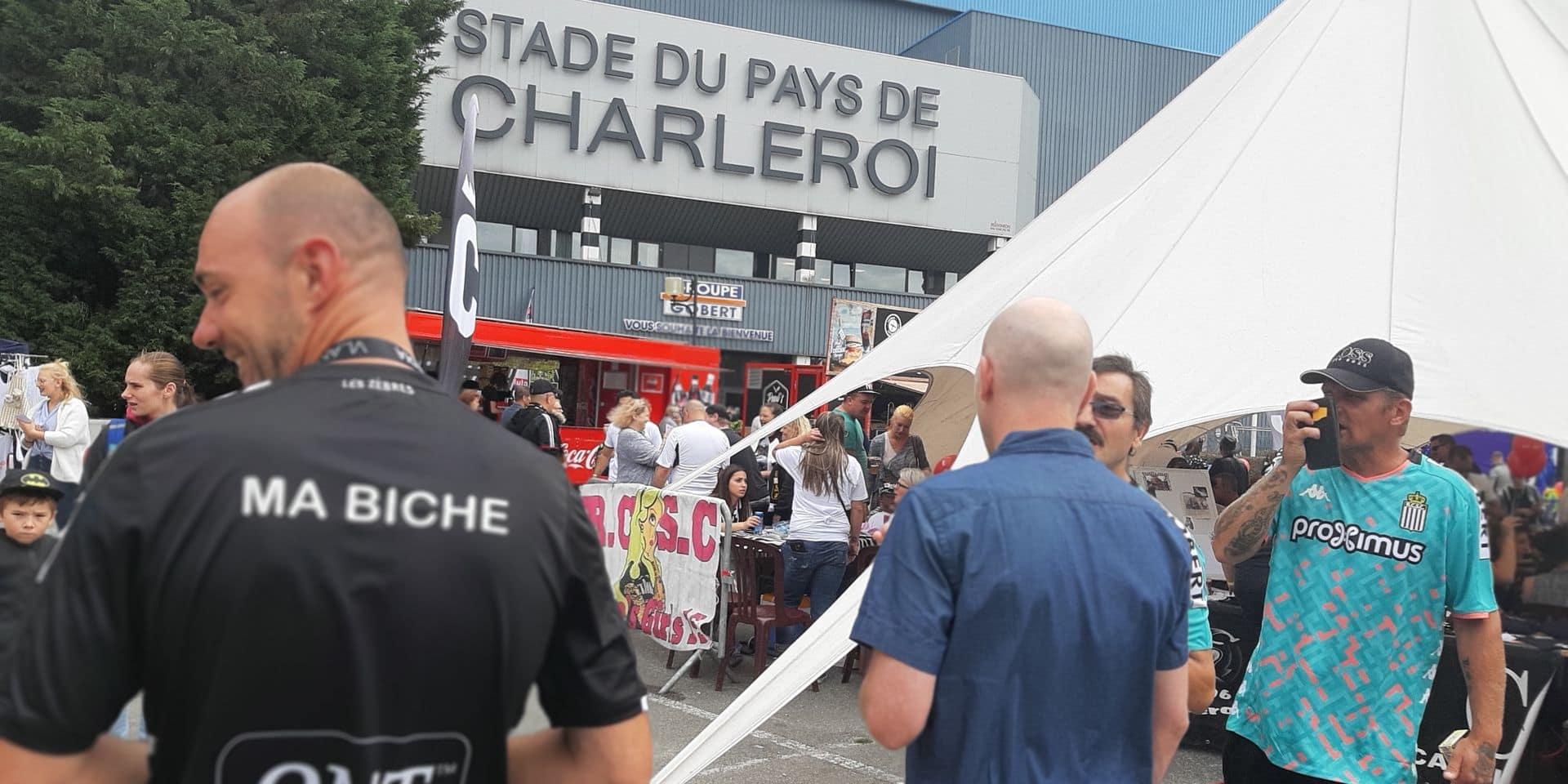 Charleroi : le fan day du Sporting attire les foules