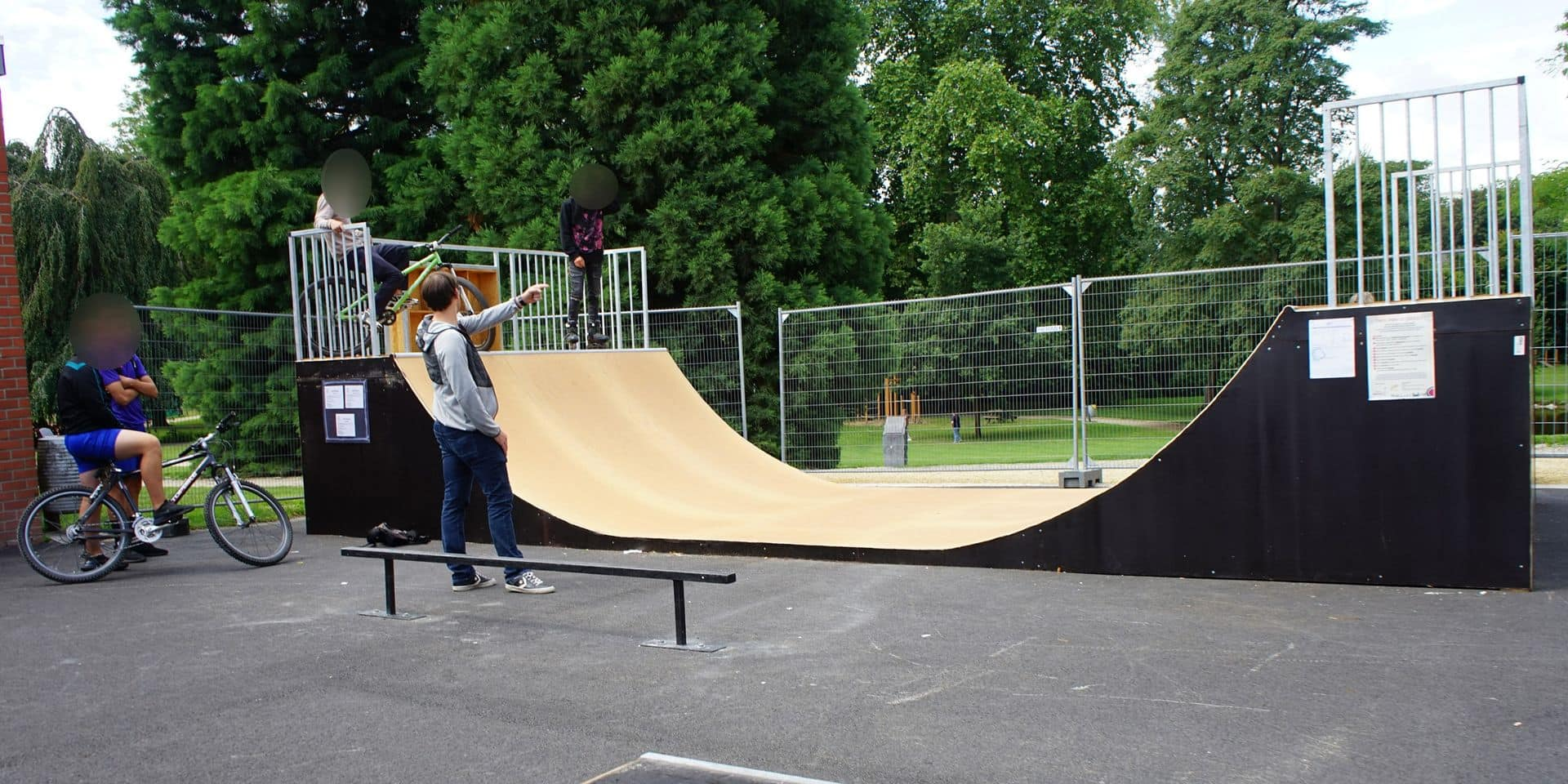 Les Sonégiens ont désormais leur skate-park