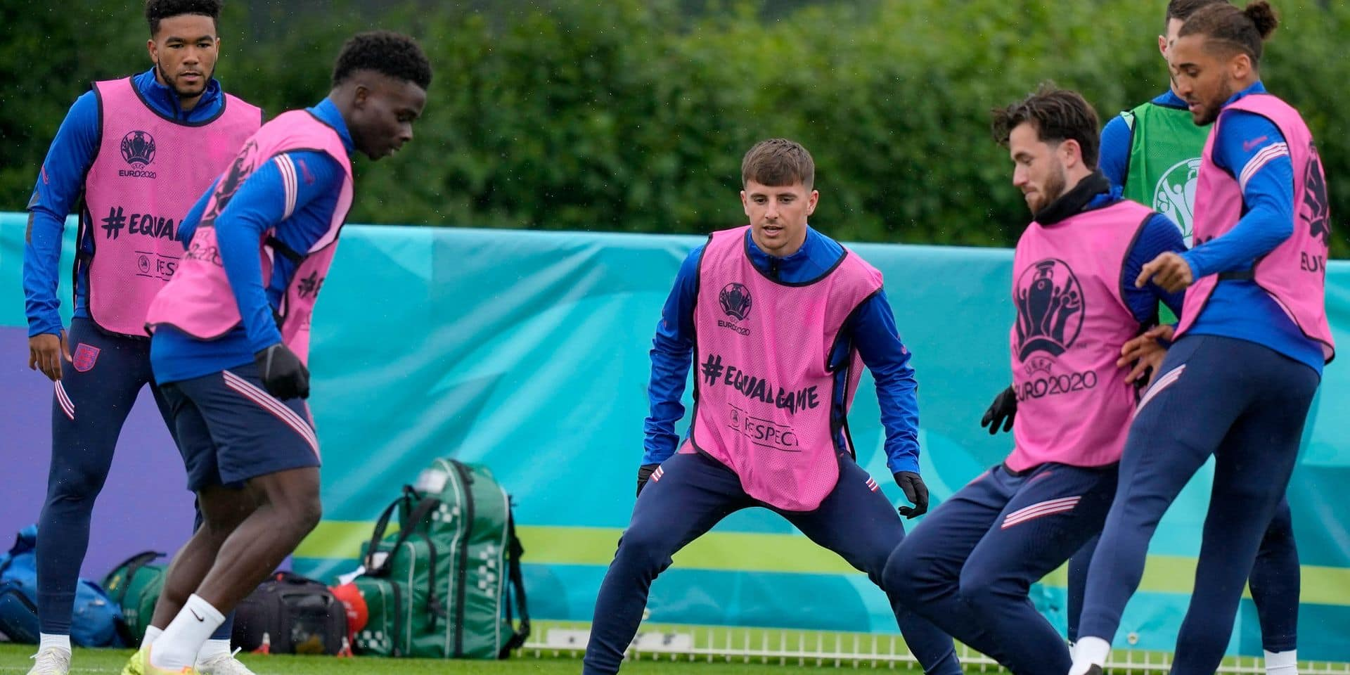 Ben Chilwell et Mason Mount toujours absents aux entraînements de l'Angleterre