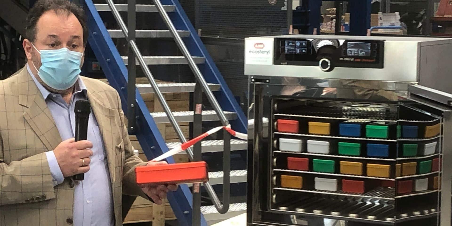 Une entreprise montoise développe une machine permettant de décontaminer les masques