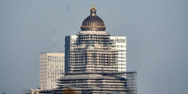 Le palais de Justice ne sera entièrement rénové qu'en 2040 - La DH
