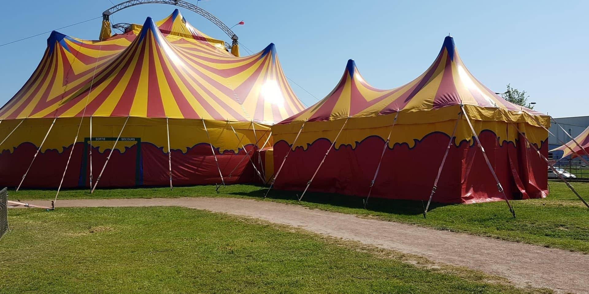 Tournai: le cirque Zavatta arrive prochainement sur le parking des Bastions