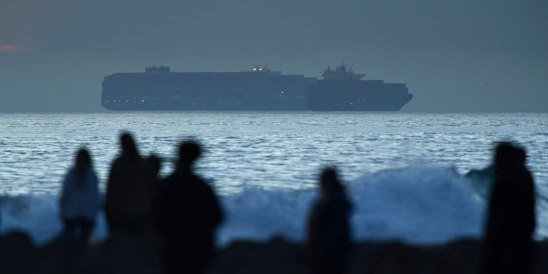 L'ancre d'un navire à l'origine de la marée noire en Californie?